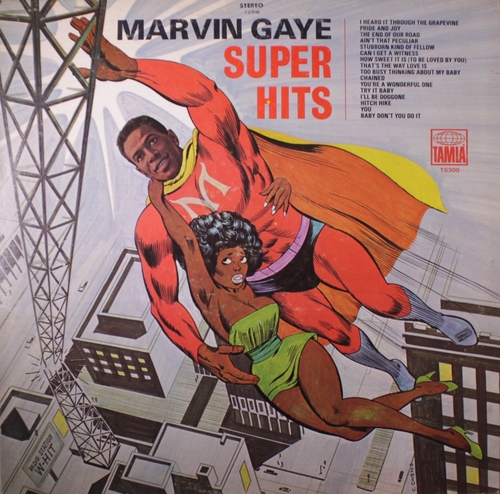 "Marvin Gaye : Album "" Super Hits "" Tamla ‎Records TS 300 [ US ]"