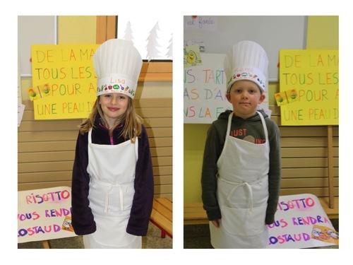 Les cuisiniers du CP