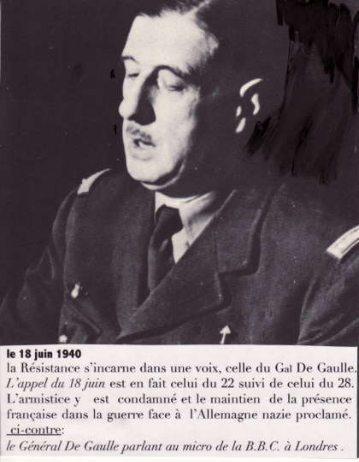 de Gaulle au micro
