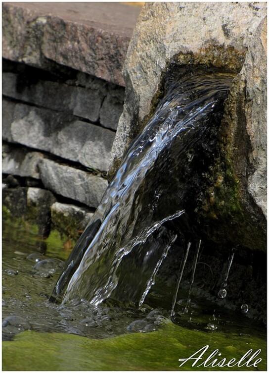 Beauregard: les fontaines