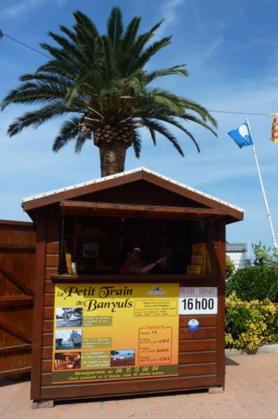 Banyuls - Petit train cabane tickets