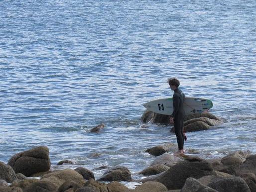 Des surfeurs ont été verbalisés à Guissény vendredi 13 novembre 2020 pour avoir pratiqué leur activité sportive durant le confinement.