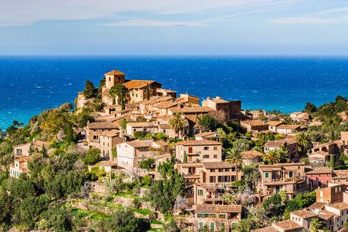 cala Deia - resto de Pêcheur - Majorque - ouest de l'île