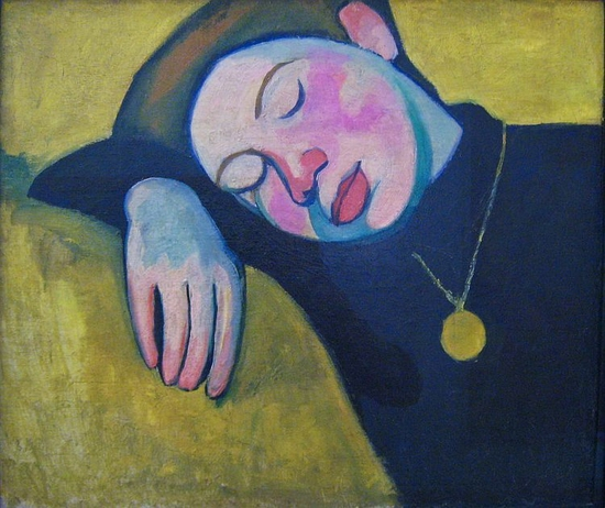 Sonia Delaunay, Jeune fille endormie, 1907