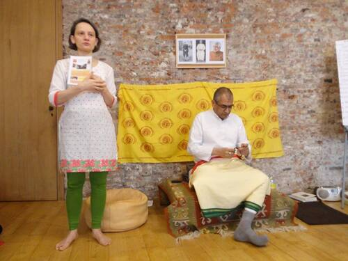 Stage avec Sudhir Tiwari en images