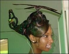 coiffure insolite