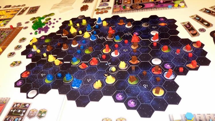 Gaia Project (plateau de jeu)