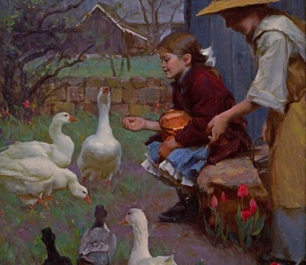 Peinture de : Michael Malm