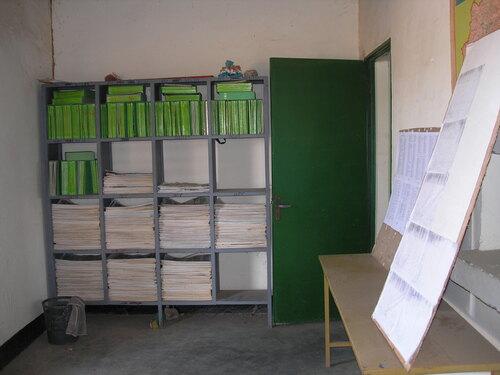 La future bibliothèque scolaire des écoles de Sapouy