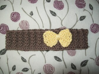 Bandeau bébé en coton
