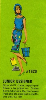 Barbie vintage : Junior Designer