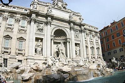 italie fontaine de trevi