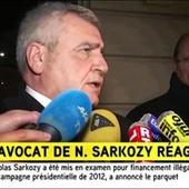 "Sarkozy mis en examen : son avocat se dit ""satisfait"""
