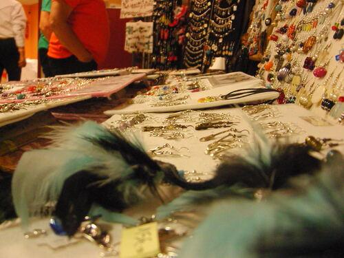 Exposition de mes bijoux country à VERETZ le 7 octobre 2017