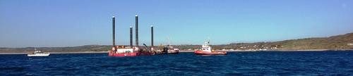 Projet d'interconnexion FAB – Opération de survey en mer