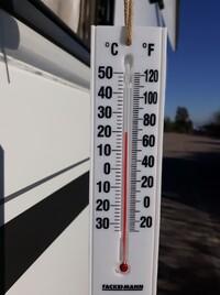 Voilà la température