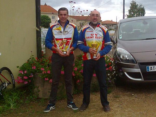 Duo gagnant à Lussat