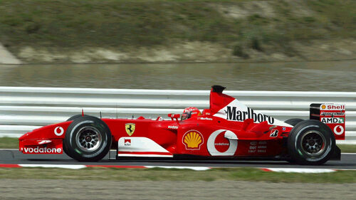 2002 - Scuderia Ferrari Marlboro - Saison 2002
