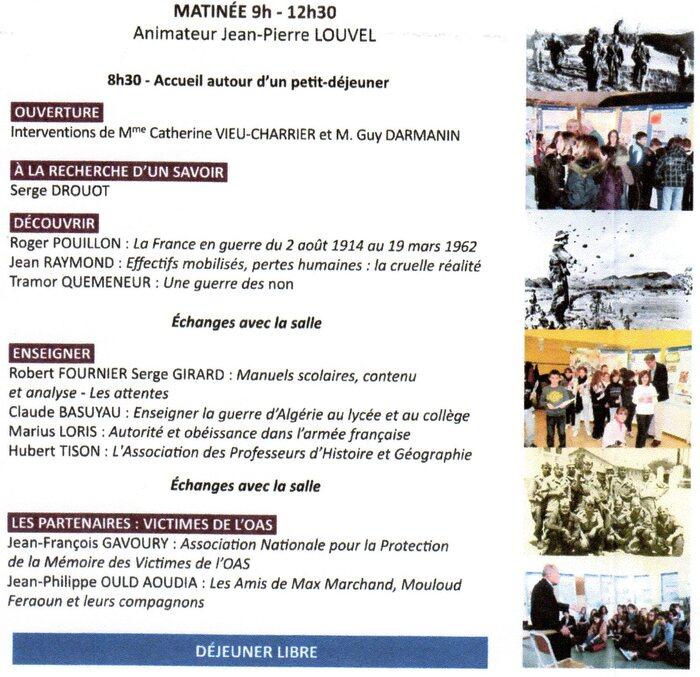 GUERRE D'ALGERIE : SAVOIR ET TRANSMETTRE