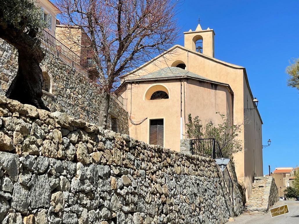 Eglise San Bastianu - Monticello