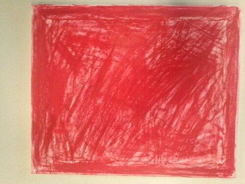 Le 17 septembre, Nous avons travaillé sur  les monochromes et le peintre Klein.