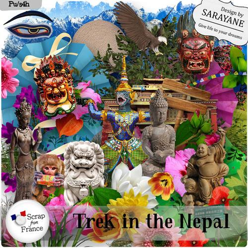 Trek in the Nepal
