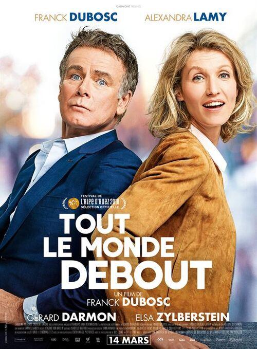 """""""Tout le monde debout"""" j'ai adoré cette comédie romantique de Franck Dubosc, très drôle et pleine d'émotion, à voir"""
