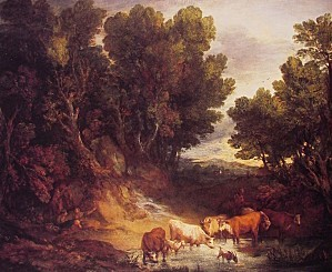 THOMAS-GAINSBOROUGH-THE-WATERING-PLACE