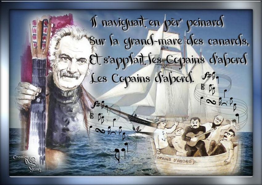 Les copains d'abord (Georges Brassens)