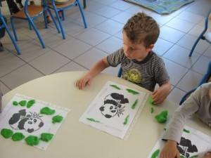 PAM panda feuilles a