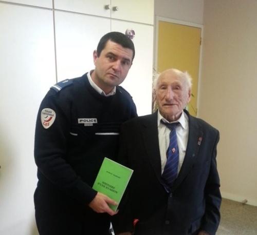 * Marcel Barbary, ancien des Forces Française Libres fête ses 103 ans