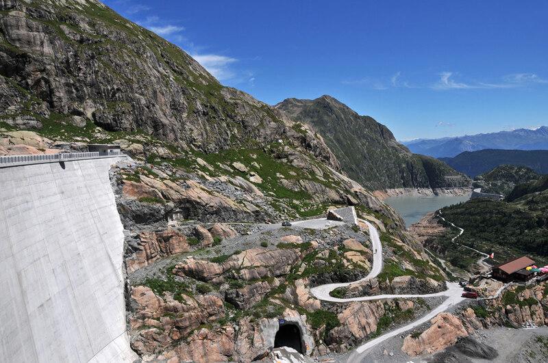 Randonnée : les barrages d'Émosson