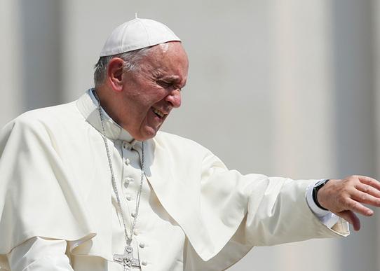 Le pape François, 30 juin 2016.