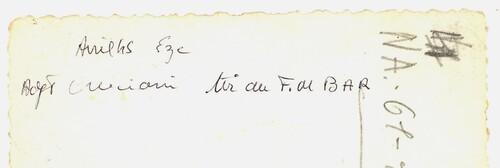 * Eze-Village.  Avril 1945 - Précieuses photos de l'adjudant Cruciani