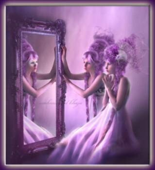 Même les miroirs s'y trompent....