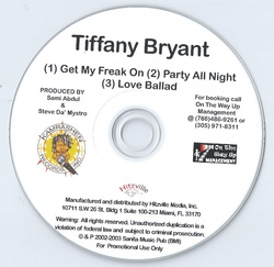TIFFANY BRYANT - DEMO (EP PROMO 2002)
