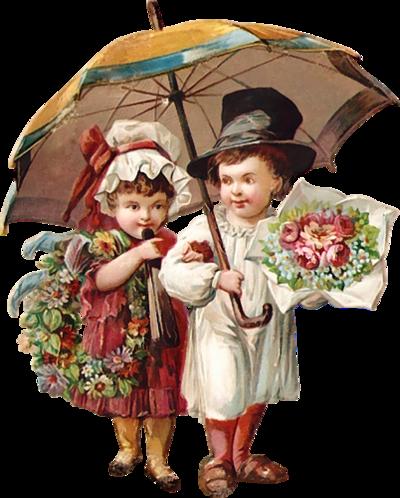 Enfants vintage 1