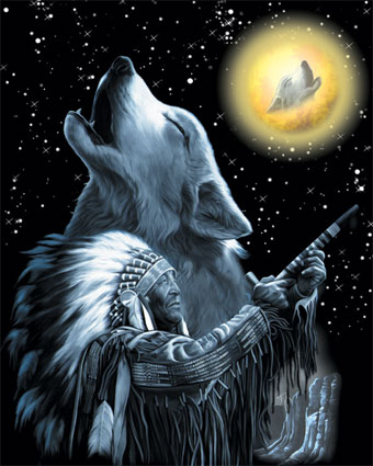 Légende du sibérian husky