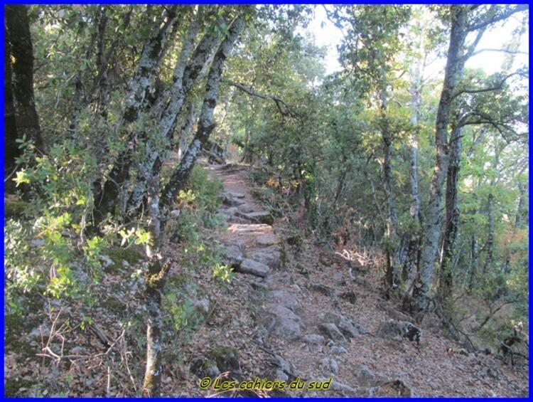 Balade des AH du mois d'octobre, le plateau de Ganagobie