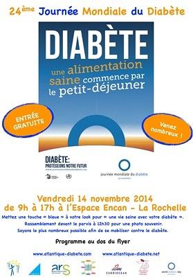 Journée mondiale du diabète à La Rochelle ...