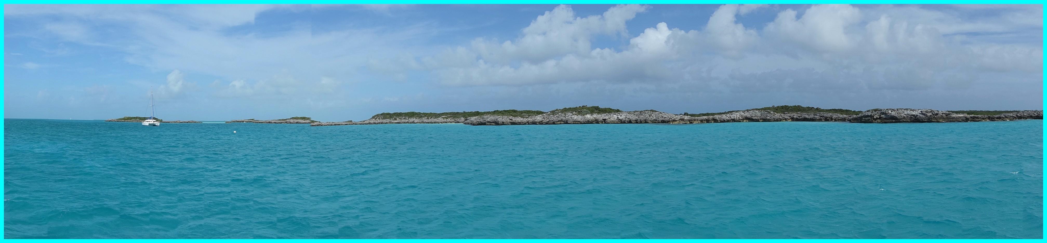 Shroud Cay est en vue (clic pour agrandir)