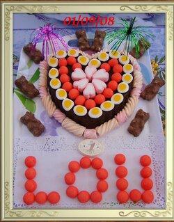 Liens pour exemple de Gâteaux-bonbons