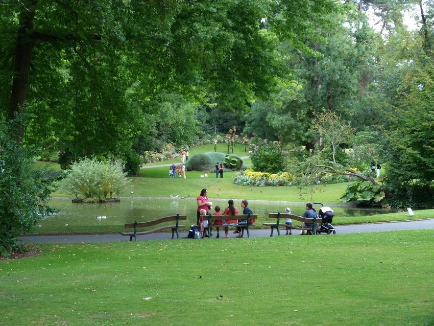 Au jardin des plantes  à  Nantes