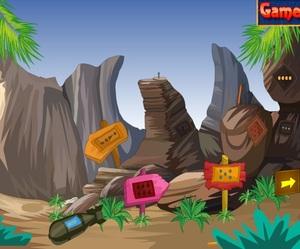Jouer à Sand cave escape
