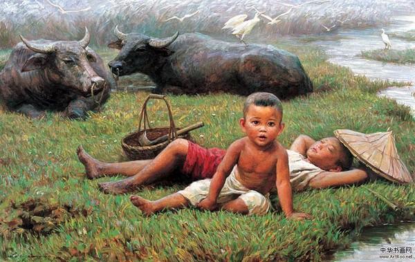 Peinture de : Li Zijian