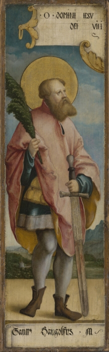 Saint Gangolf d'Avallon ou Gengoux. Martyr († 760)