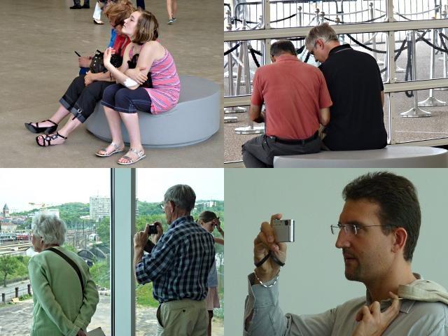 Centre Pompidou Metz 20 visiteurs 12 06 10
