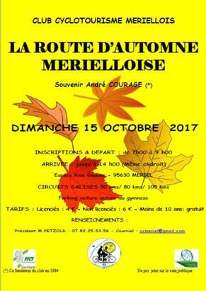 Route d'Automne Mérielloise - 2017