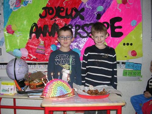 Nos anniversaires de Mars