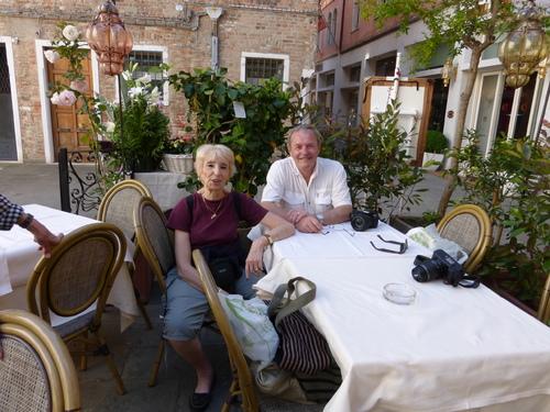 Jacqueline à Venise mai 2014